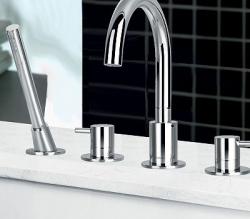 Flova Levo 4 hole bath shower mixer