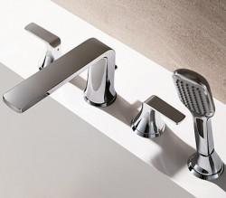 Flova Fusion 4 hole bath shower mixer