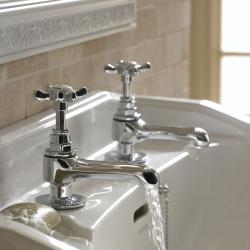 Bristan 1901 basin pillar taps
