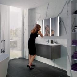 HIB Xenon-120-Roomset mirror cabinet
