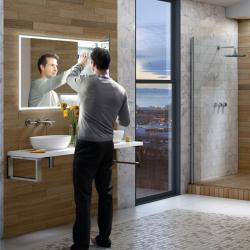 HIB vanquish-120 mirror cabinet