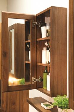 Stonearth mirror cabinet oak internal