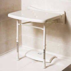 AKW shower seat 02010-showering-white-455x455