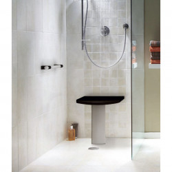 AKW onyx_duo_black_1 shower seat