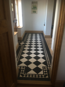 Victorian porch tiling Oxford kingsley
