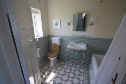 Winchester palomino mint Falkirk pattern Victorian bathroom