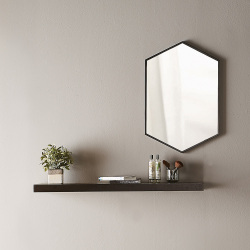B375516-docklands-hexagonal-mirror-black-frame-lifestyle