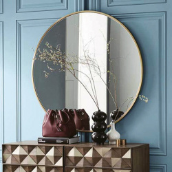B375523-docklands-round-mirror-60-brushed-brass-frame-lifestyle