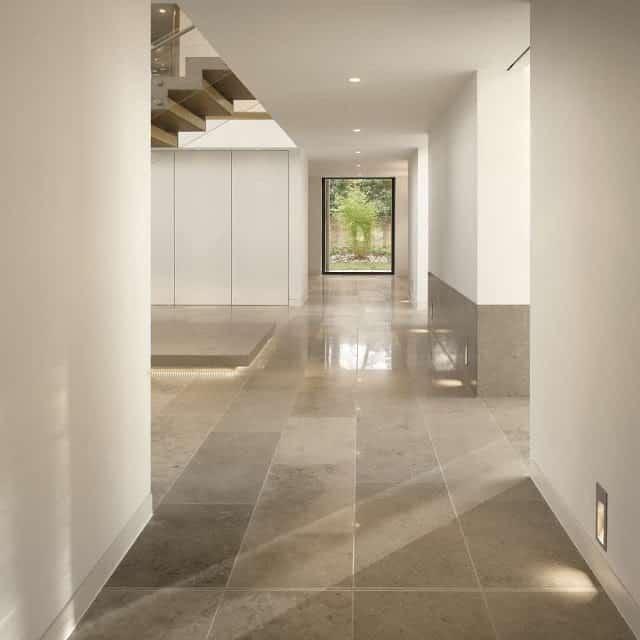 Jura Grey Honed Limestone Tiles
