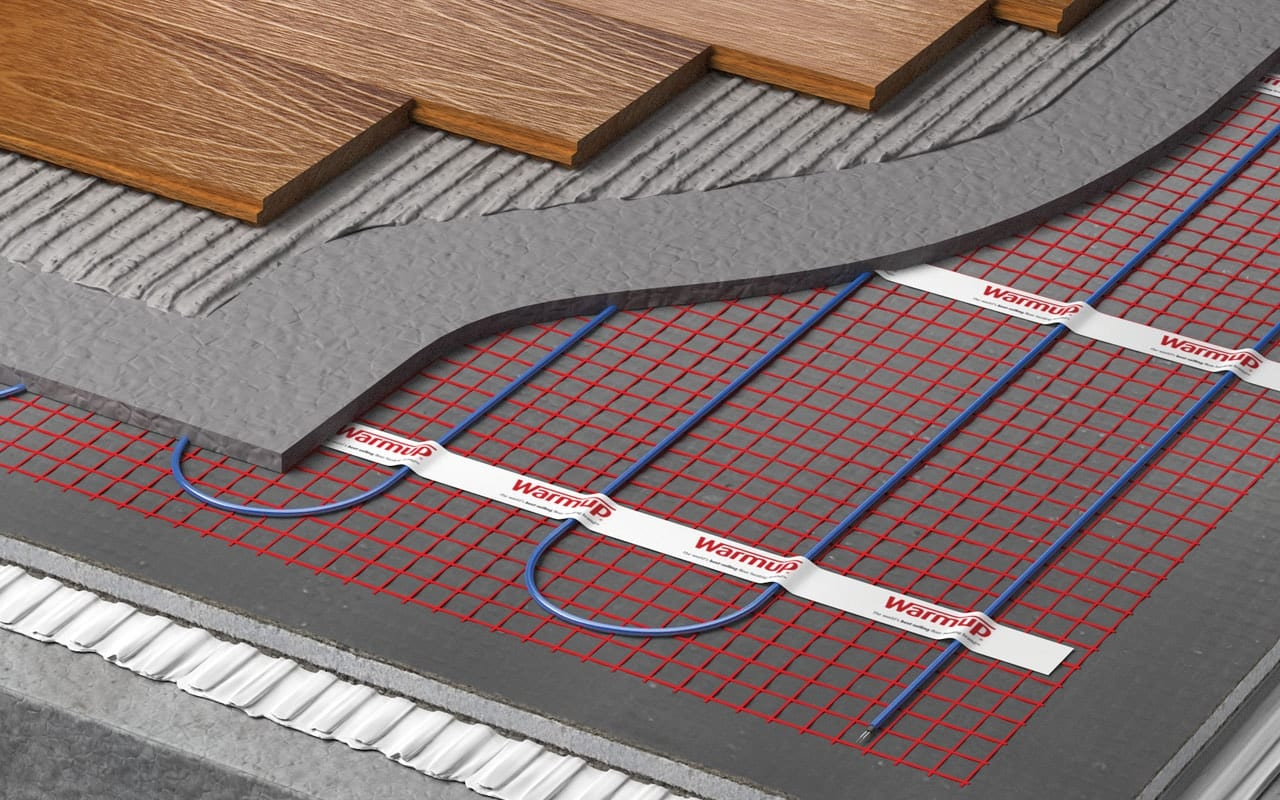 Warmup electric underfloor heating Sticky Mat
