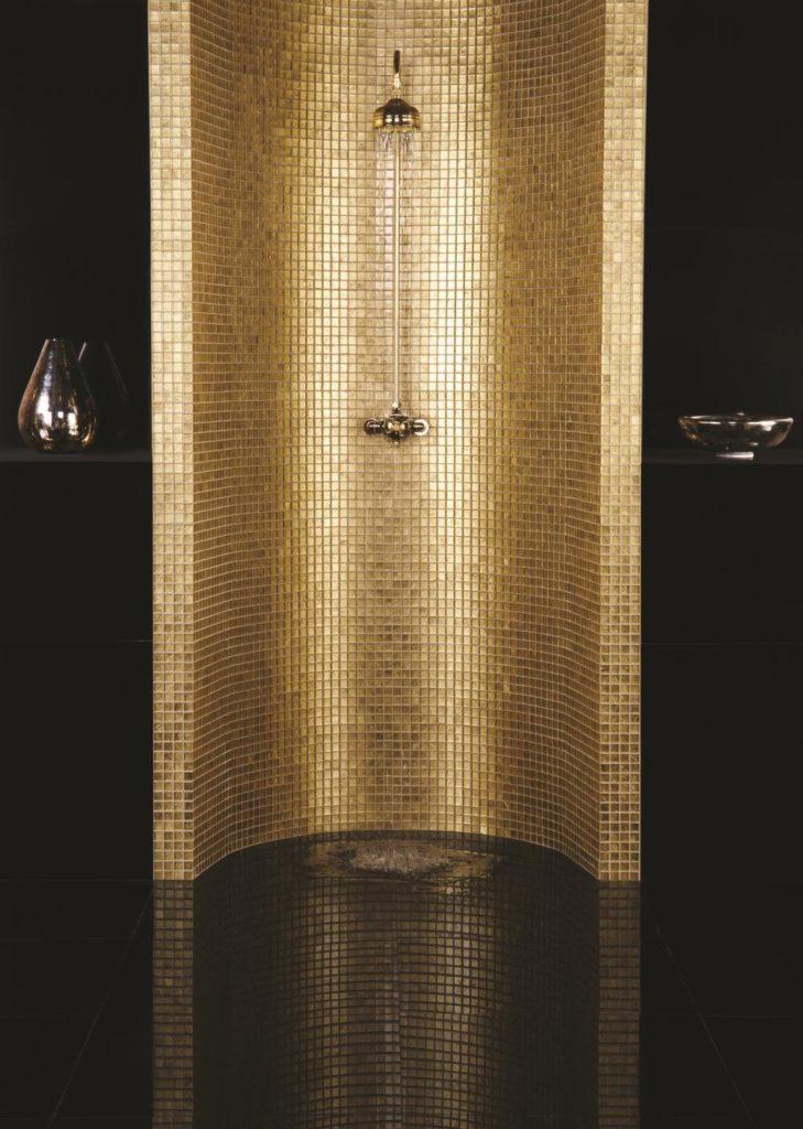 Original Style Bullion mosaic tiles gold