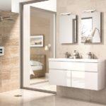 Eco bathroom furniture Integra gloss white
