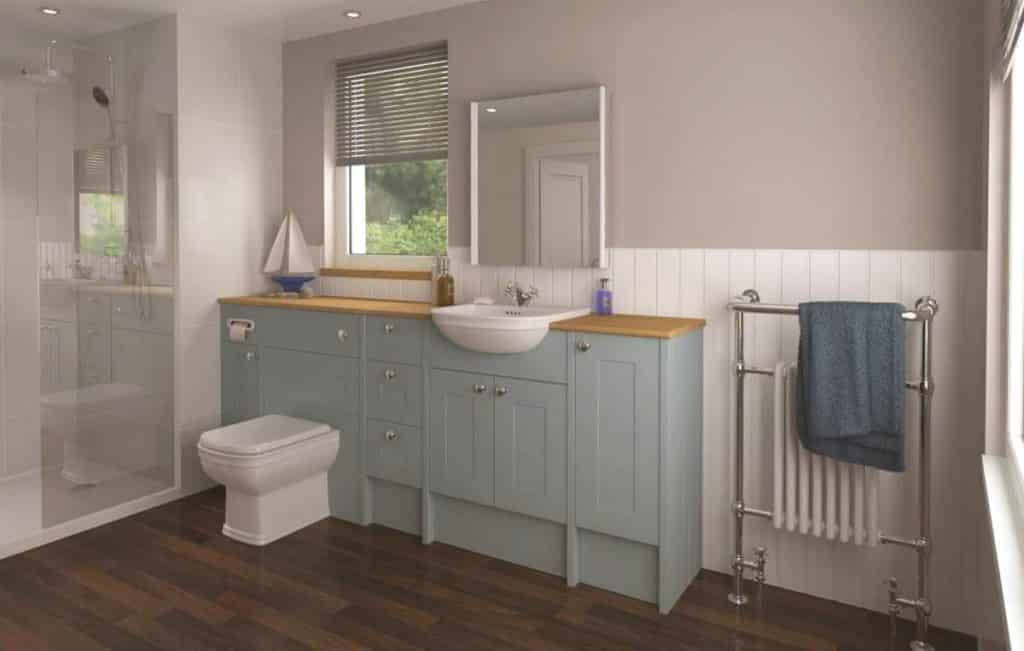Eco bathrooms Daresbury Fjord Bathroom Furniture