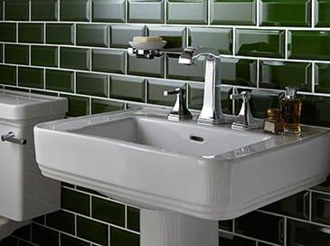 Heritage Wynwood pedestal basin