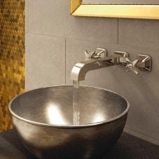 Bristan Glamour 3 hole basin mixer tap