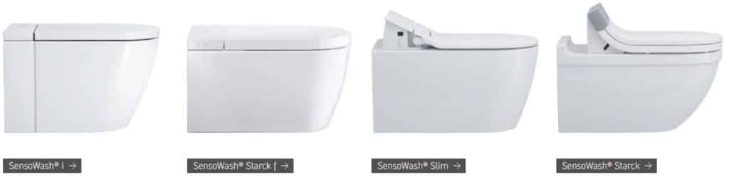 Duravit Sensowash Toilets