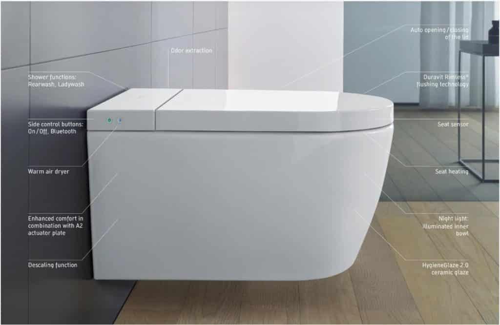 Duravit Sensowash bidet-toilet