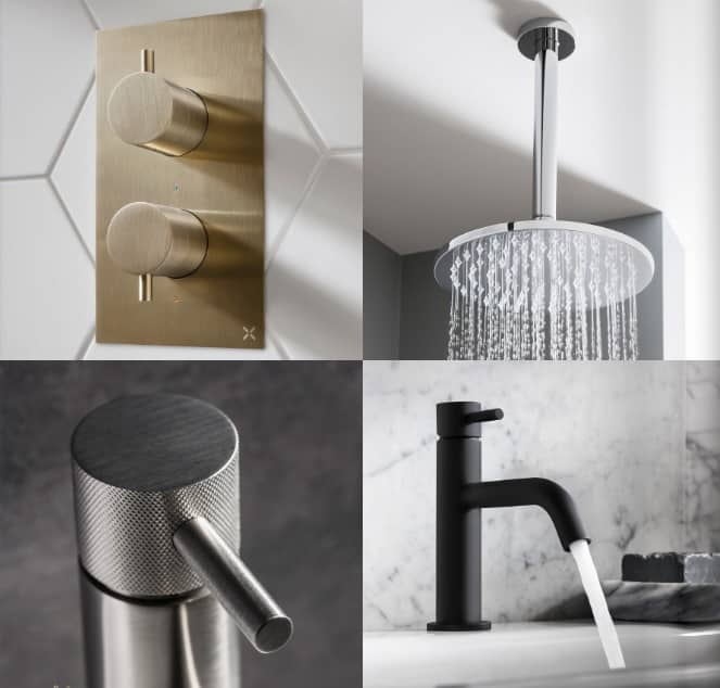 Crosswater bathroom tap finishes