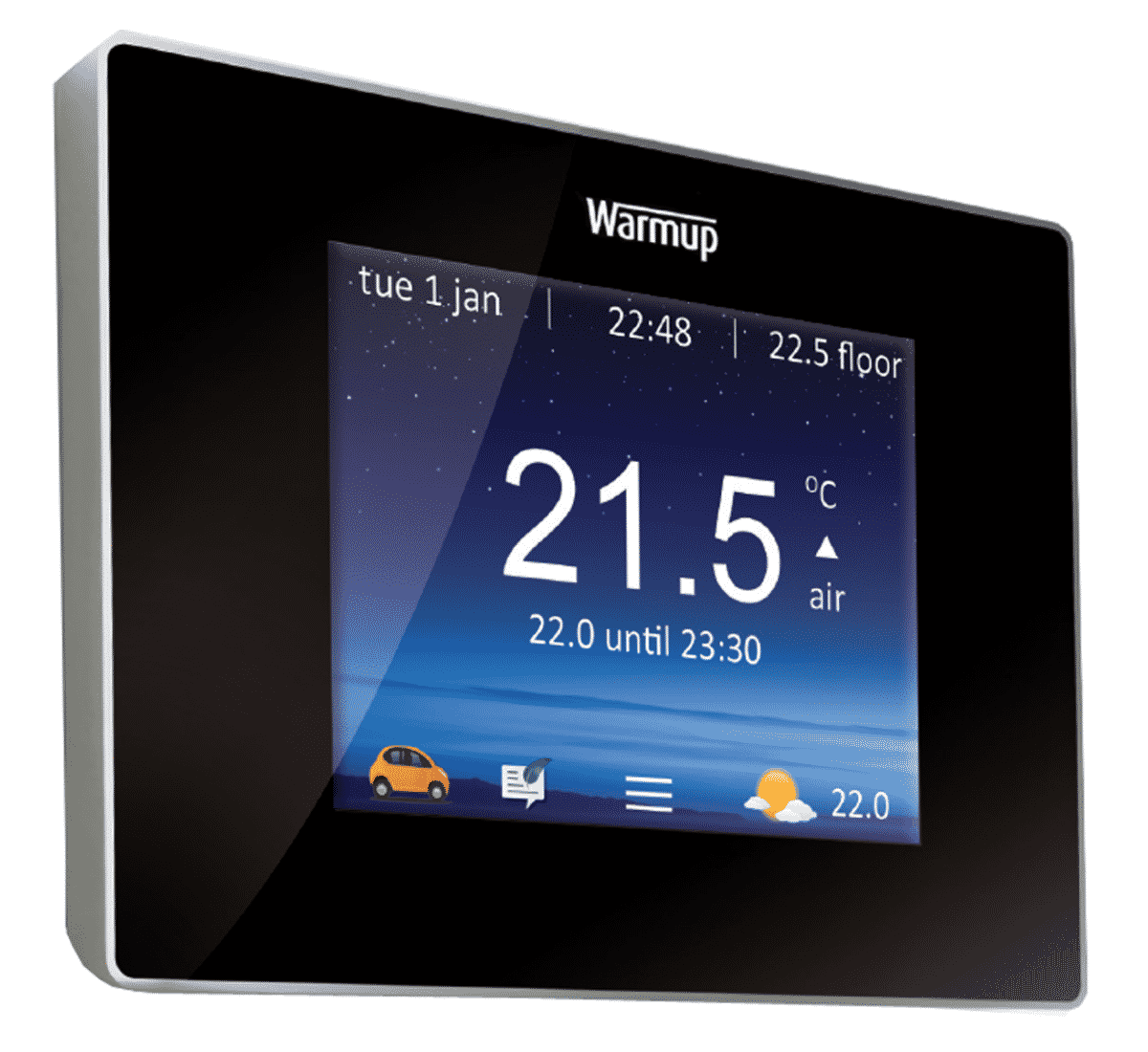 Warmup 4ie underfloor heating smart thermostat