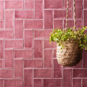Winchester tayberry herringbone tile