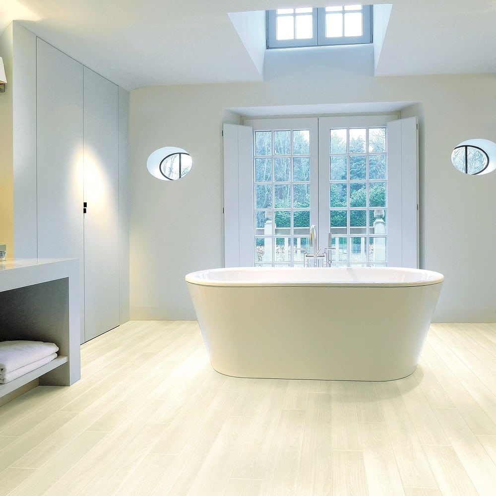 Aquastep bathroom flooring