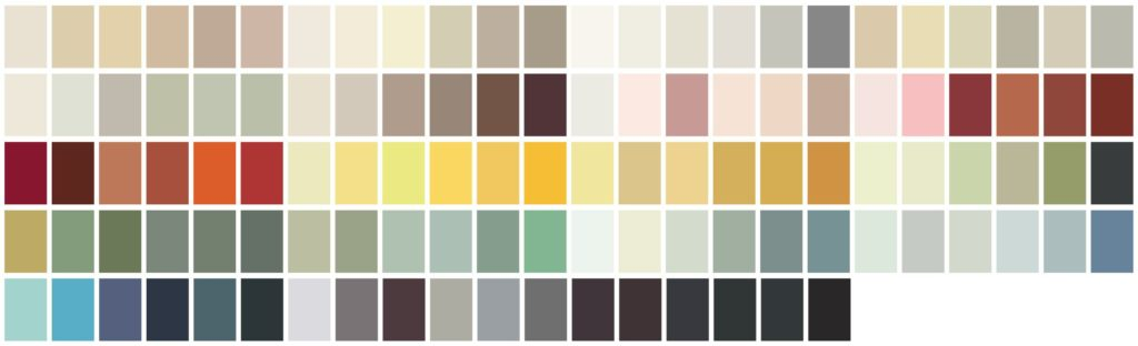 Farrow & Ball Paint Palette