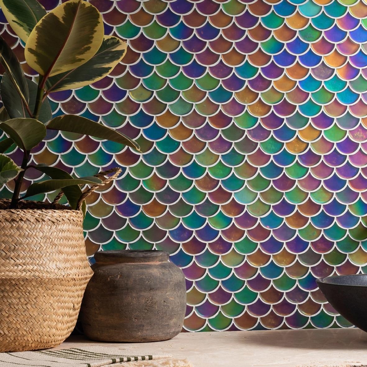 Original Style Aqua scale mosaics