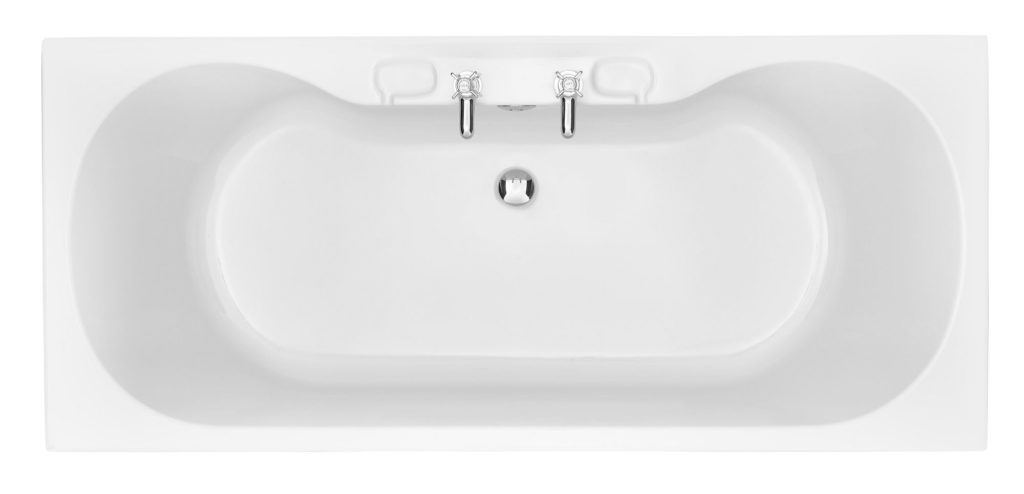 Heritage Claverton Double Ended Bath