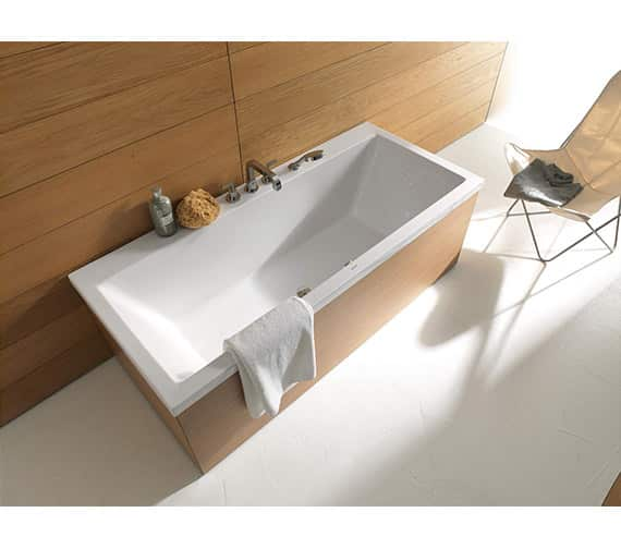 Duravit Vero Double Ended Bath with panel