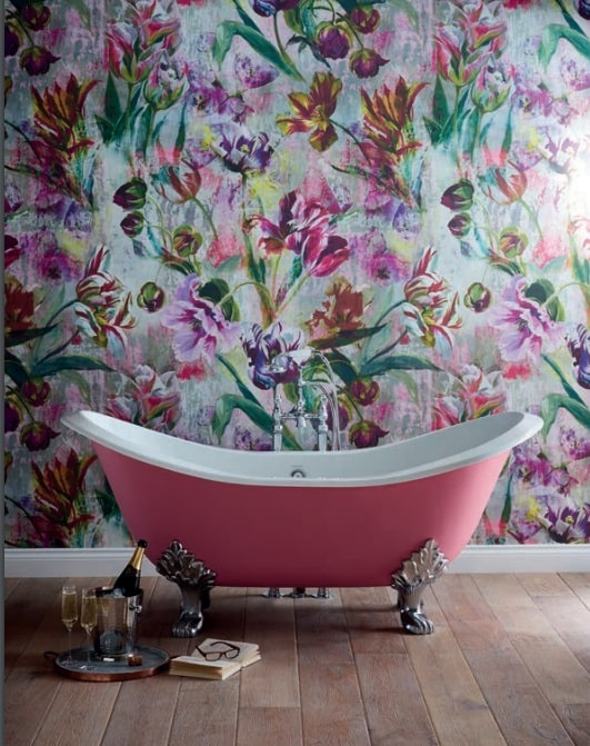Heritage Buckingham Cast Iron Painted Bath