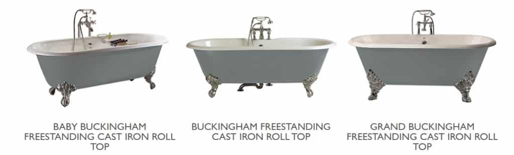 heritage cast iron bath collection1