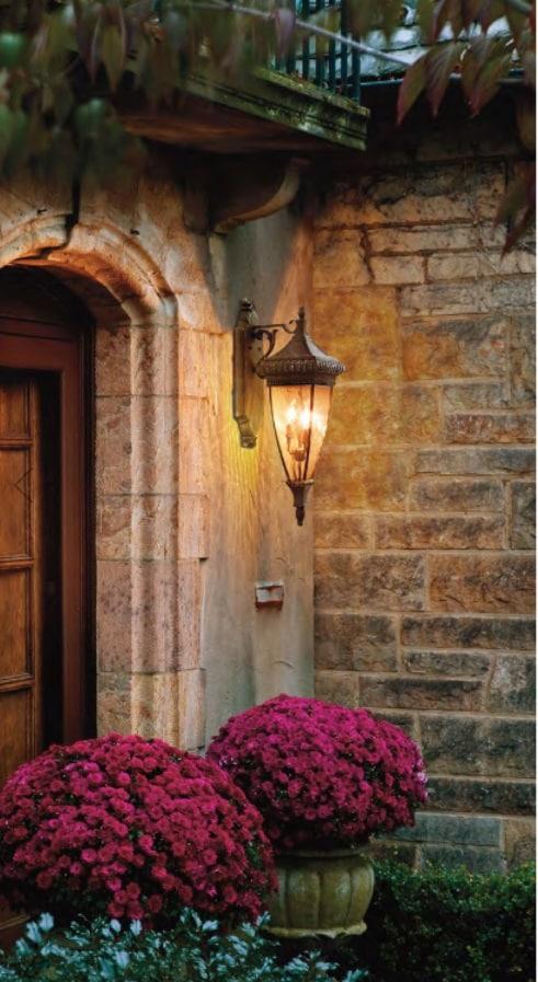Venetian Rain exterior light
