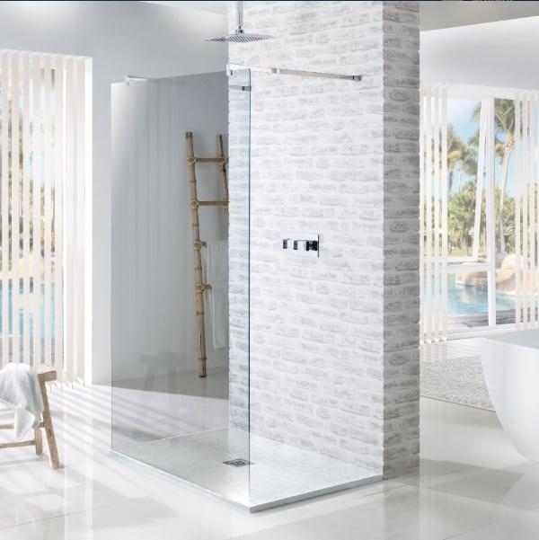 MX Shower Tray Slate White