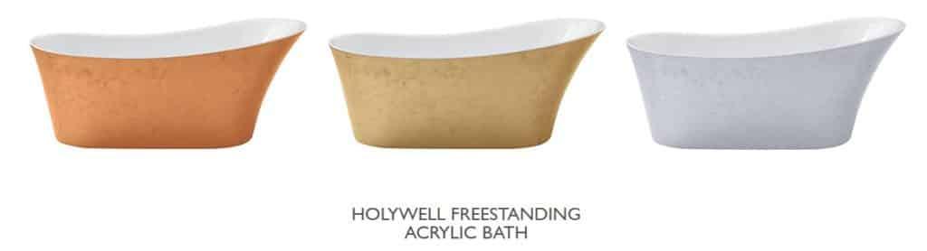 Heritage Holywell Copper Effect Bath