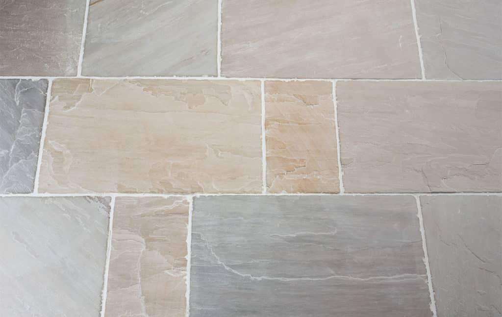 Desert olive sandstone tiles