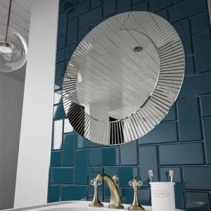 hib arte mirror blue tiles