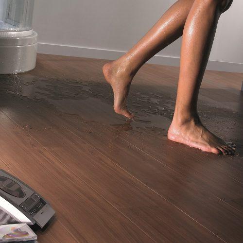 Aquastep waterproof bathroomflooring