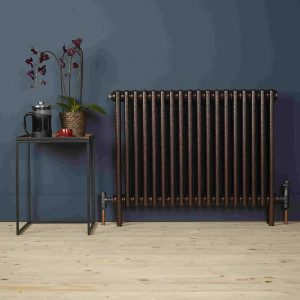 Zehnder Charleston Copper Black radiator