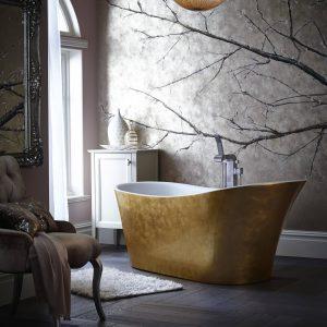 Holywell Metallic Efftect Copper Bath