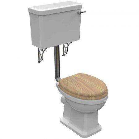 Pura Wyndham Low level toilet