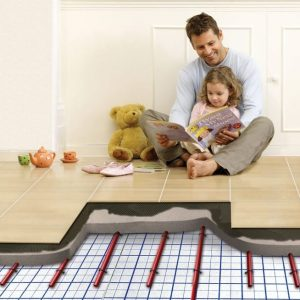 Warmup Clypso piped hydronic underfloor heating